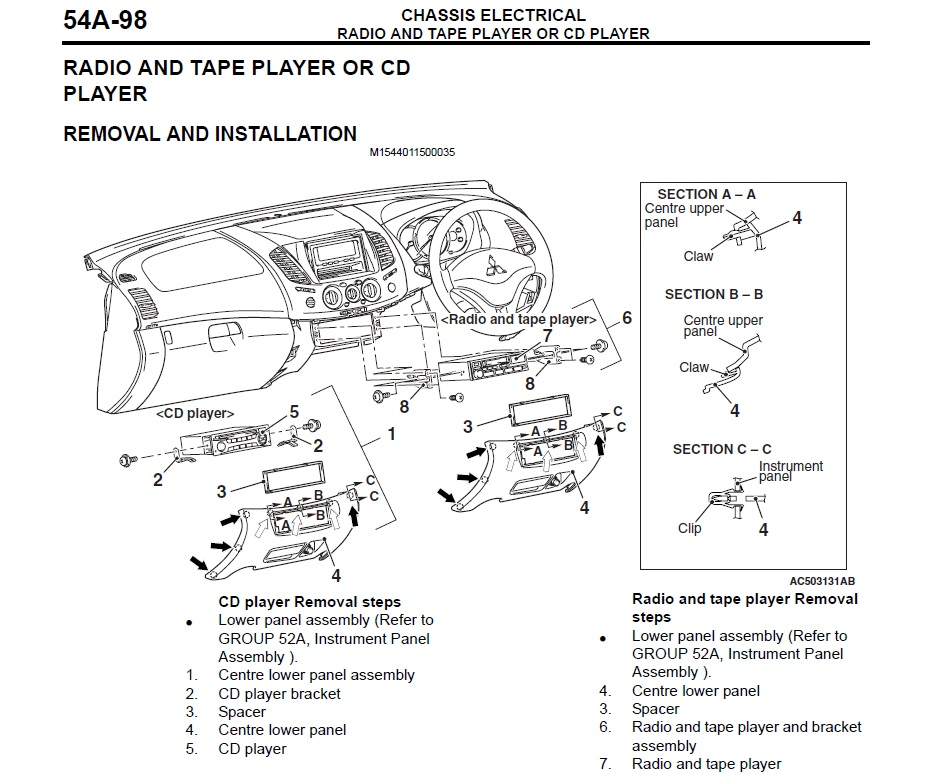 Mitsubishi L200 Wiring Diagram Pdf : Mitsubishi l wiring diagram auto