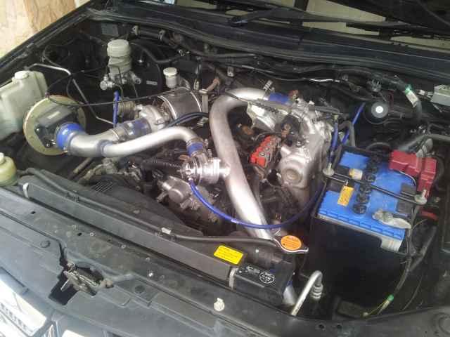 Triton เบนซิน เทอร์โบ 4g64 Turbo ( E85 100% + LPG)